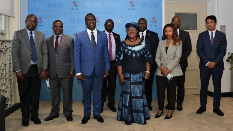 David Francis Meets With WTO