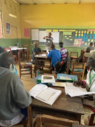 MBSSE GPE sponsored P1 to P3 teacher training across the country